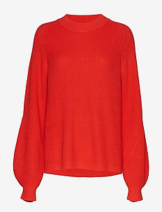 ENVICTOR LS KNIT 5207 - HIGH RISK RED