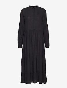 ENMAGIC LS MAXI DRESS 6642 - BLACK