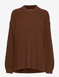 ENDIEGO LS LONG KNIT 5207 - TOFFEE