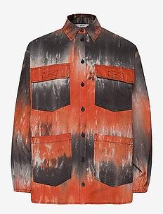 ENTOPAZ LS SHIRT AOP 6709 - langärmlige hemden - tigerlily td