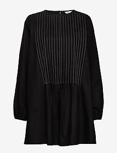 ENTOPAZ LS SHORT DRESS 6691 - BLACK