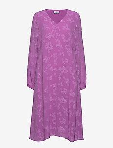 ENROSE LS LONG DRESS 6699 - PURPLE COUPE