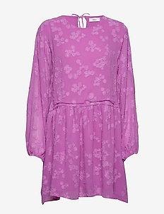 ENROSE LS SHORT DRESS 6699 - PURPLE COUPE