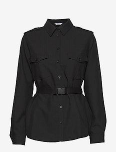 ENSEVEN LS SHIRT 6726 - langärmlige hemden - black