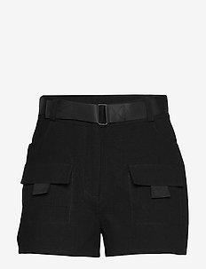 ENSPARTACUS SHORTS 6735 - casual korte broeken - black