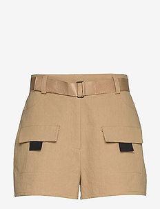 ENSPARTACUS SHORTS 6735 - chino short - travertine