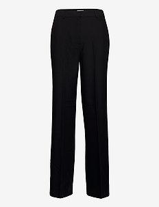 ENSMITH PANTS 6726 - spodnie szerokie - black