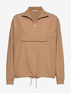 ENGATWICK LS TOP 6729 - anoraks - tiger's eye