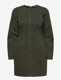 ENSTANTON LS DRESS 6774 - jeansjurken - rosin
