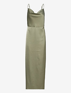 ENKRYSTLE SL DRESS 6785 - avondjurken - deep lichen green