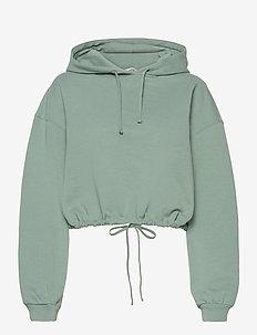 ENMONROE LS HOODIE 5304 - sweatshirts & hættetrøjer - chinois green