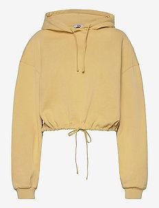 ENMONROE LS HOODIE 5304 - sweatshirts & hættetrøjer - straw