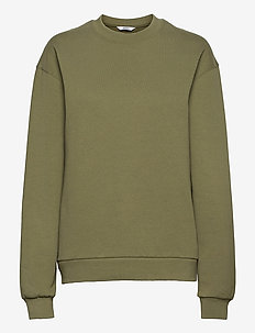ENMONROE LS SWEAT SOLID 5304 - sweatshirts en hoodies - deep lichen green