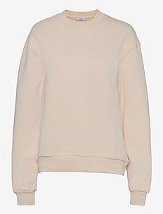 ENMONROE LS SWEAT SOLID 5304 - sweatshirts en hoodies - unbleached