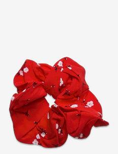 ENDAPHNE SCRUNCHIE AOP 6696 - scrunchies - red petunia
