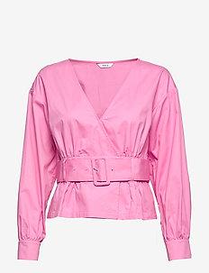 ENDENA LS TOP 6712 - langärmlige blusen - fuchsia pink