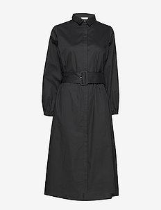 ENDENA LS DRESS 6712 - BLACK