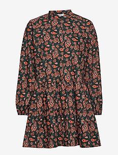 ENCLARA LS DRESS AOP 6709 - TIGER PAISLEY