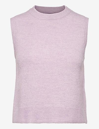 ENBOBO WEST 5242 - knitted vests - orchid mel