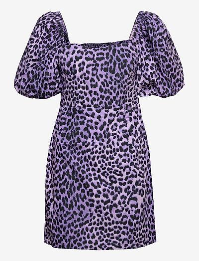 ENJASMINE DRESS AOP 6731 - party dresses - orchid leo