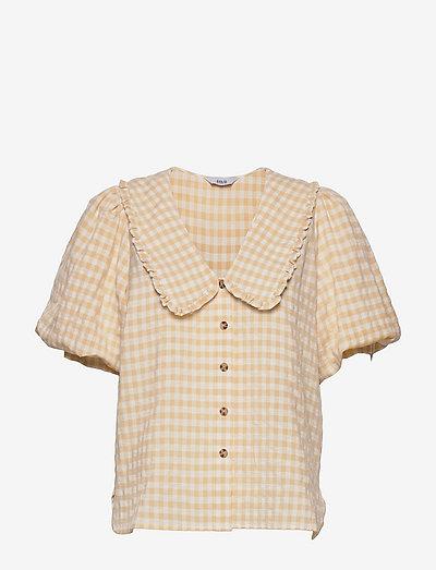 ENAPRIL SHIRT 6842 - kortermede skjorter - sunny check
