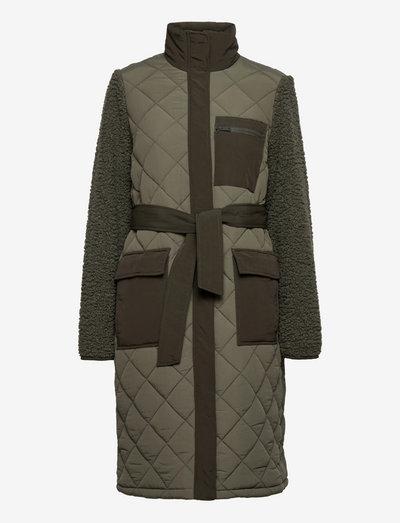 EN ANTOINE JACKET 6729 - padded coats - thyme