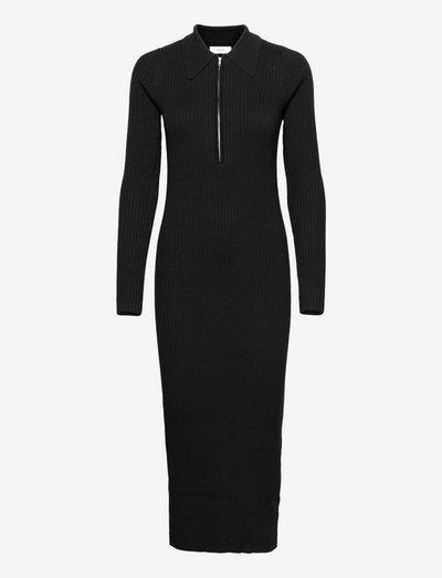 EN AGATHE DRESS 5253 - bodycon dresses - black