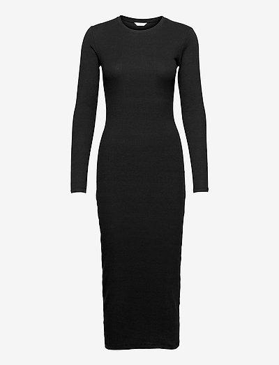 ENALLY LS DRESS 5314 - summer dresses - black