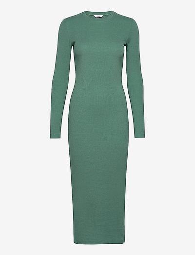 ENALLY LS DRESS 5314 - summer dresses - blue spruce