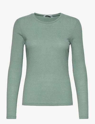 ENVELDA LS TEE 5328 - t-shirt & tops - chinois green