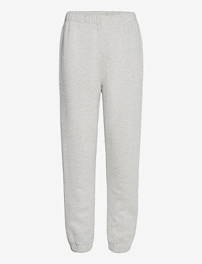 ENMONROE PANTS LOGO 5346 - sweatpants - light grey mel.