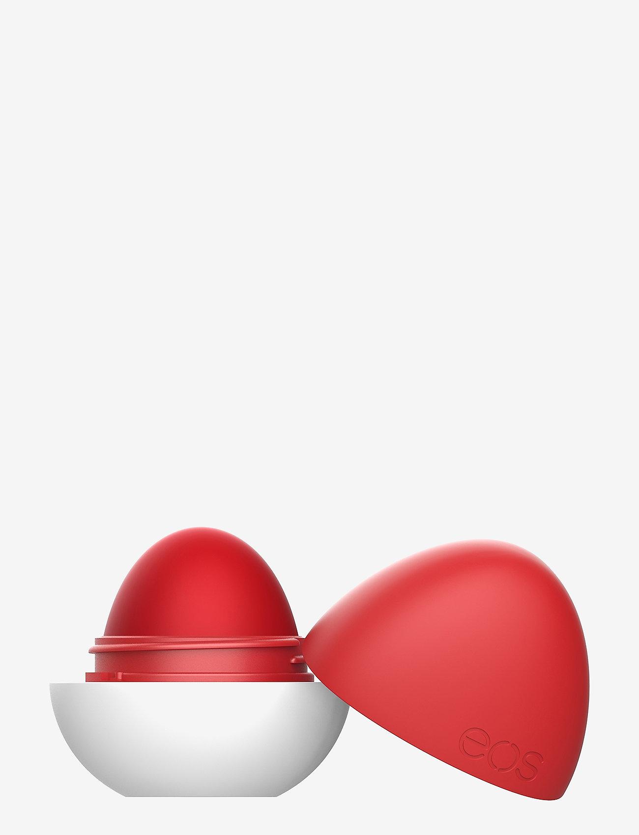 eos - Shea+Shade Red Haute Lip Balm - läppvård - red haute - 0