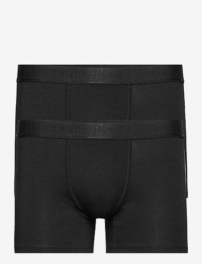 BLACK BOXER BIPACK - boxer briefs - black