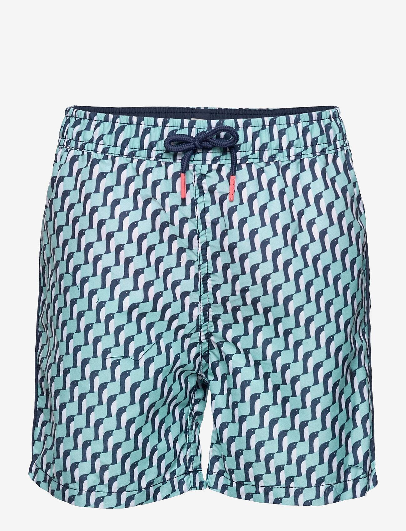 Esprit Bodywear Kids - Beach Bottoms - badehosen - light aqua green - 0