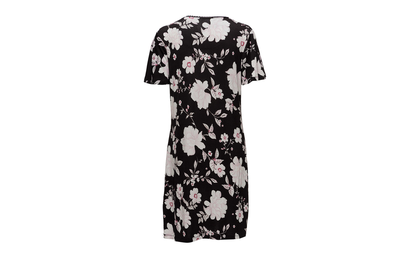 Black Elastane 5 Women Nightshirts Viscose Bodywear Esprit 95 q0Yw7ptOxn