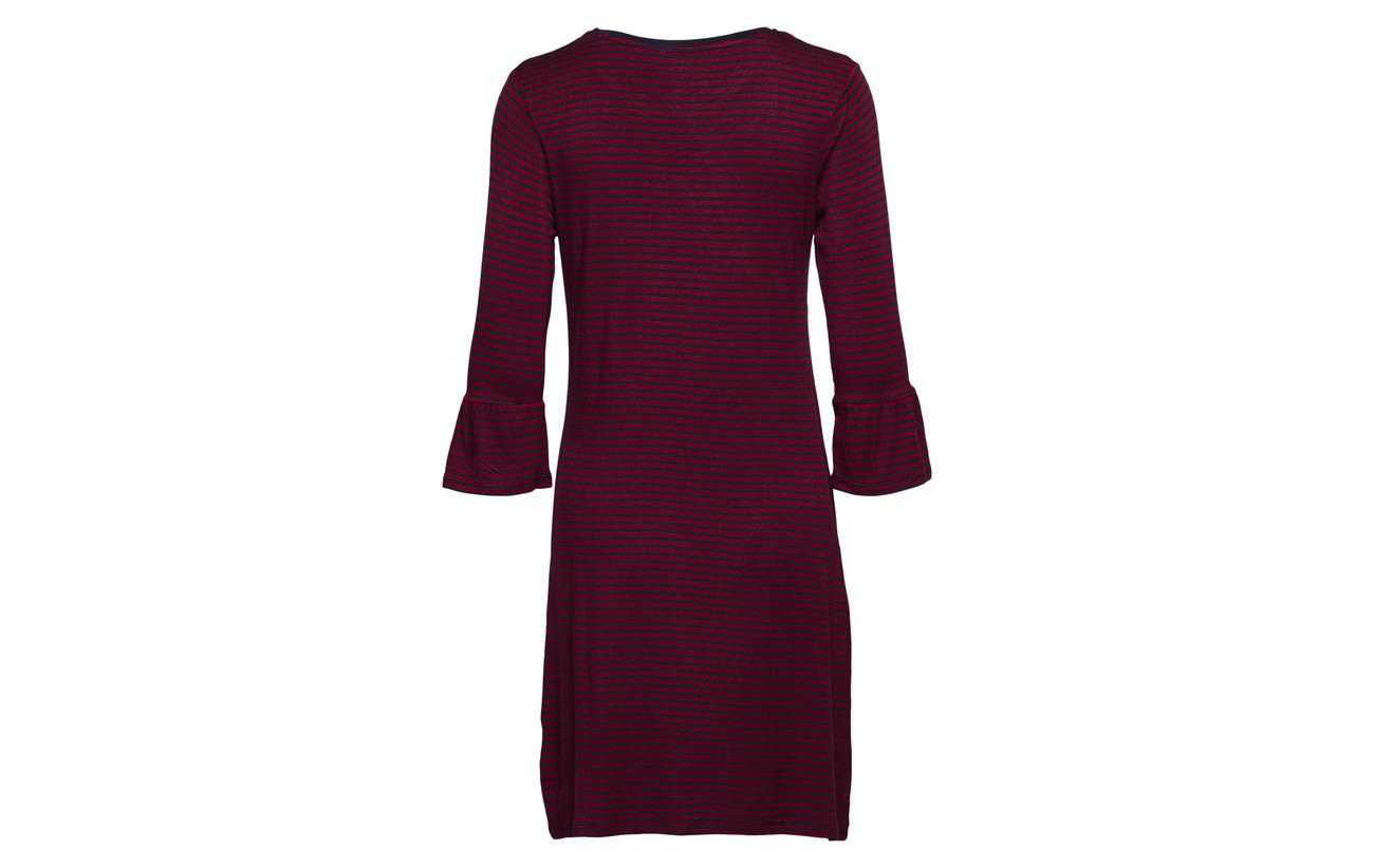 Coton 5 95 Esprit Bodywear Nightshirts Elastane Navy Women zwXUqY