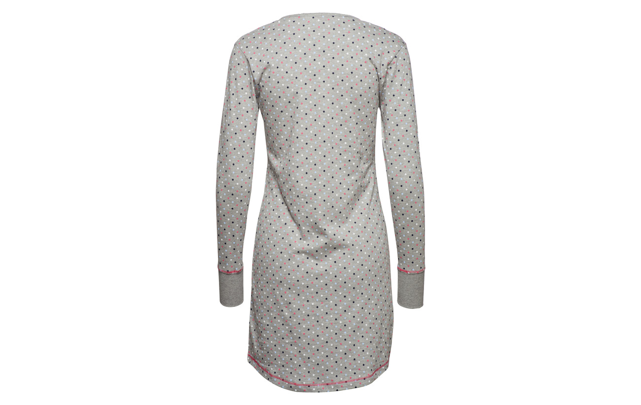 Grey Bodywear Esprit Women Nightshirts 80 Coton Light 20 Polyester FIqPBxwqd