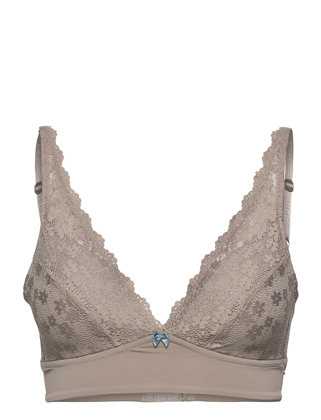 Image of Bras Wireless Lingerie Bras & Tops Padded Bras Brun Esprit Bodywear Women (3493870997)