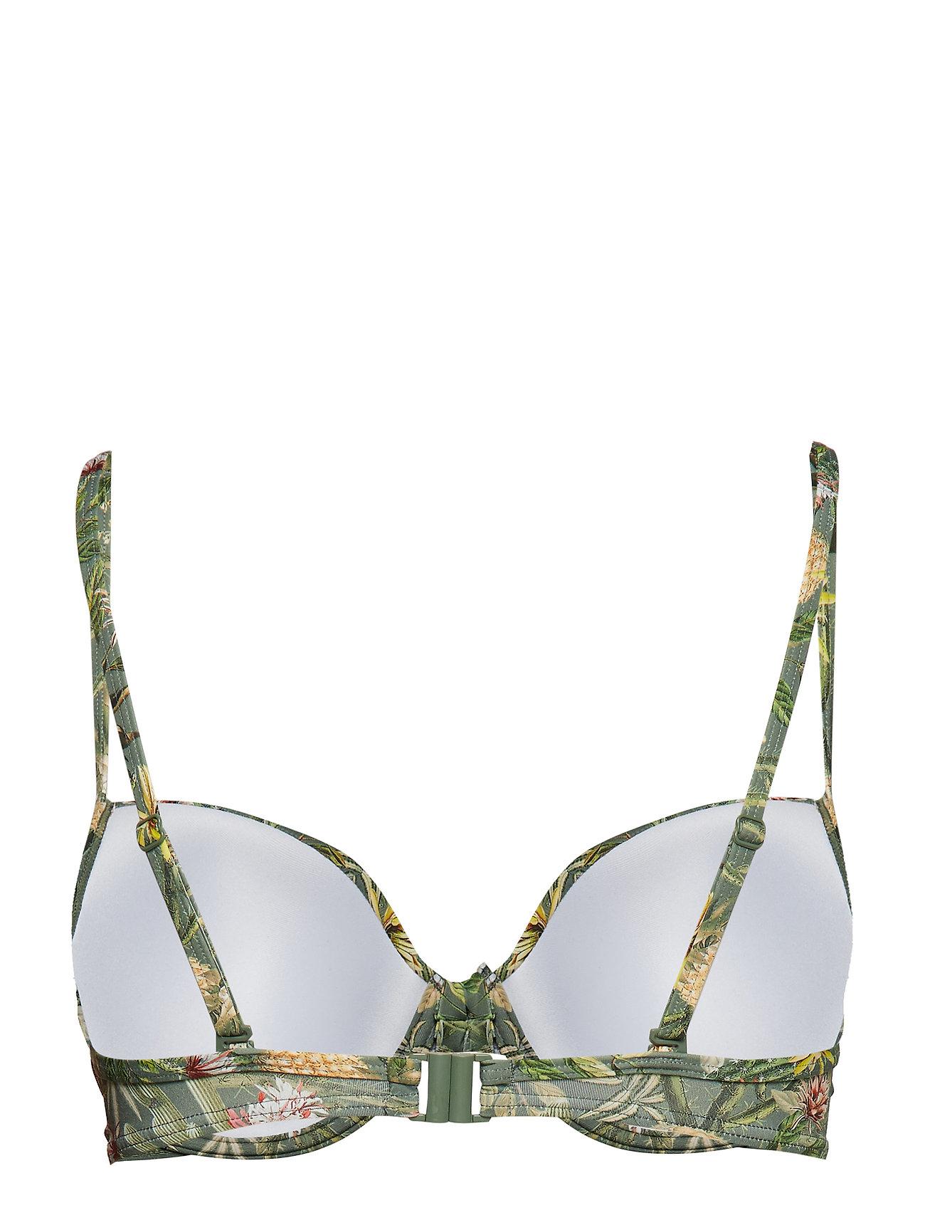 Esprit Bodywear Women Beach Tops with wire - Swimwear LIGHT KHAKI