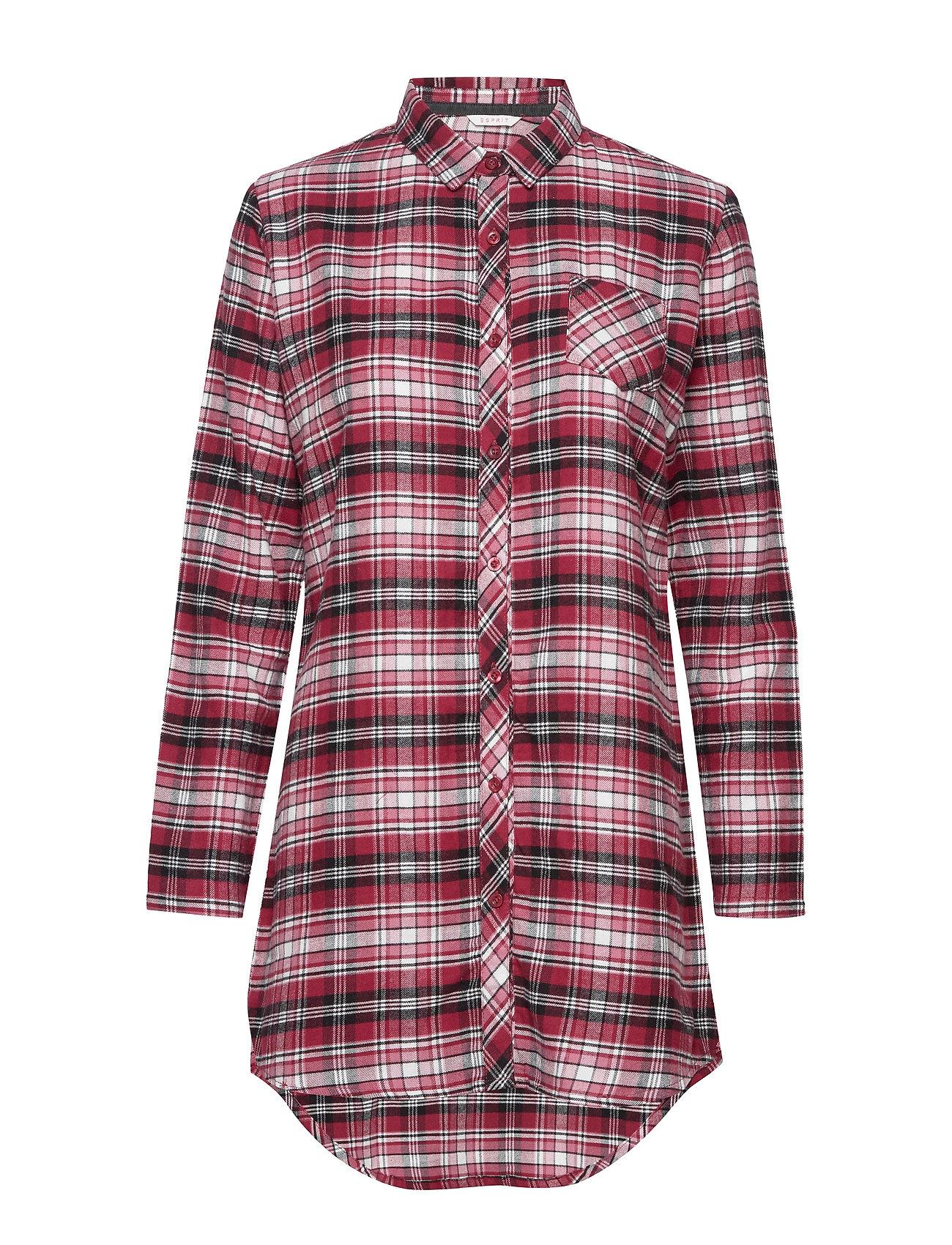 Esprit Bodywear Women Nightshirts - DARK RED