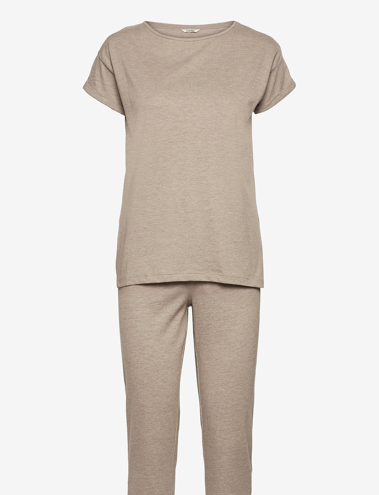Esprit Bodywear Women - Pyjamas - pyjama''s - light taupe 2 - 0