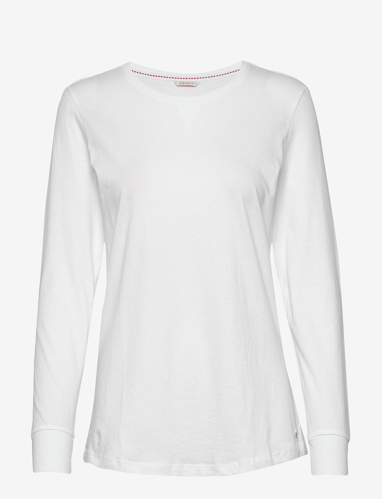 Esprit Bodywear Women - Night-T-Shirts - tops - white - 0
