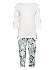 Pyjamas - TEAL GREEN