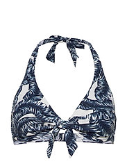 Beach Tops with wire - NAVY 2