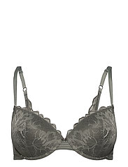 Bras with wire - OLIVE