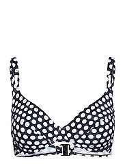 Beach Tops with wire - BLACK