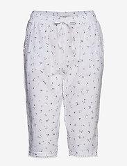 Esprit Bodywear Women - Nightpants - bottoms - white - 0
