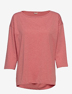 Night-T-Shirts - CORAL RED