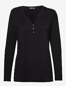 Night-T-Shirts - oberteile - black