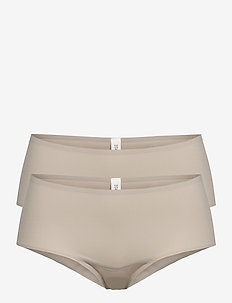 Bottoms - boxers - light taupe